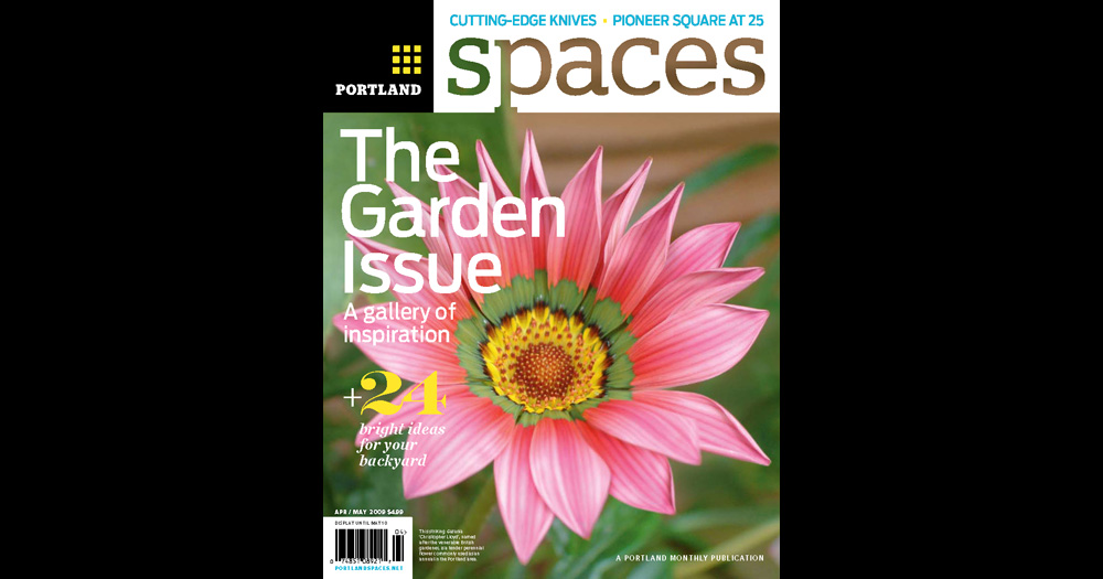 Portland Spaces cover April-May 2009
